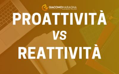 Differenza tra Reattività e Proattività
