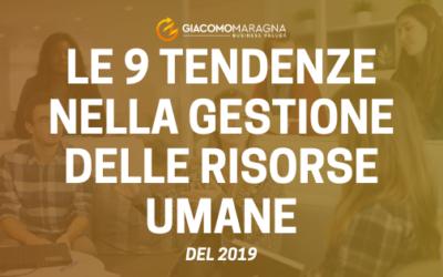 Le 9 tendenze nella gestione delle risorse umane | 2019