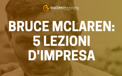 Bruce McLaren: 5 Lezioni d'impresa